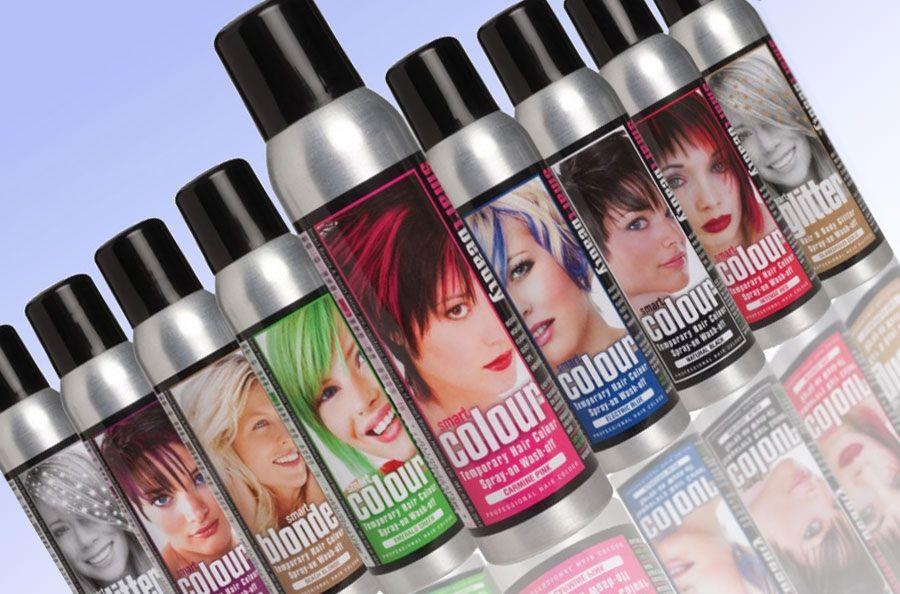 Физические краски для волос